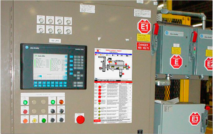 Machine Specific Lockout Tagout - Lock out tag out procedures template